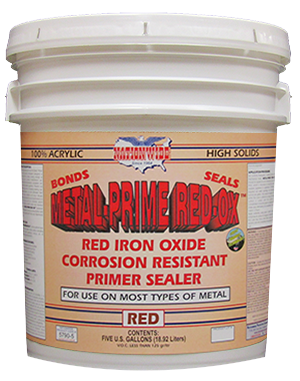 Rusted Metal Primer Sealer | Metal-Prime-Red-Ox™