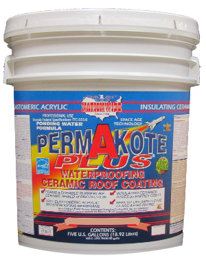PERMAKOTE PLUS® Elastomeric Ceramic Flat Roof Coating | Nationwide Coatings