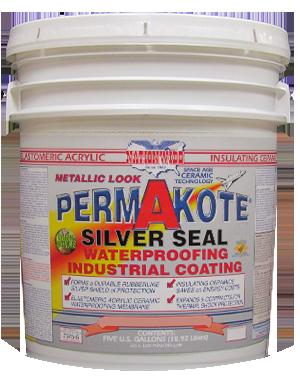 Aluminum Roof Coating Permakote® Silver Seal Bucket Image