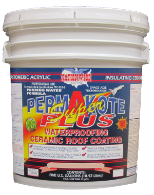 Rubber Roof Sealant, Permakote Super Plus bucket Image