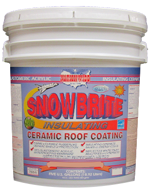 White Roof Coating Snowbrite™ Bucket Image