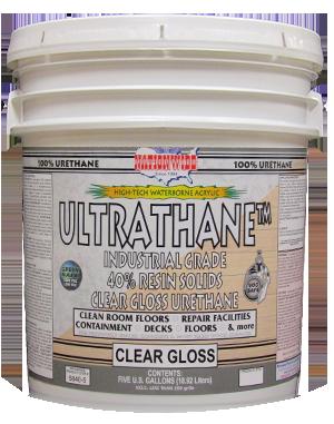 Water Based Polyurethane, Ultrathane Bucket Photo