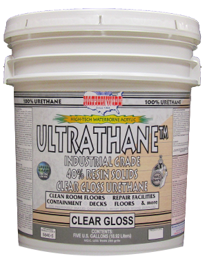 Ultrathane Clear Gloss Urethane Bucket - Nationwide Protective Coatings