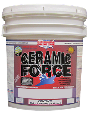 Ceramic Force - Exterior Ceramic Paint - Flat Bucket - Nationwide Protective Coatings
