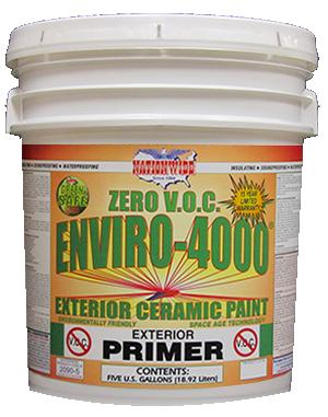 Enviro 4000 - EXTERIOR Zero VOC Primer - Bucket - Nationwide Protective Coatings
