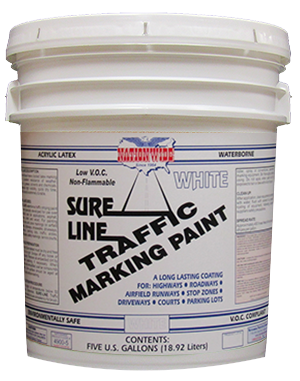 Sure Line Traffic Marking Paint Bucket - Nationwide Protective Coatings