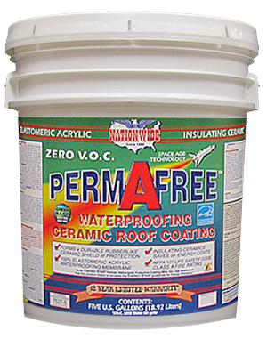 Permafree Bucket - Zero VOC Roof Coating - Nationwide Protective Coatings