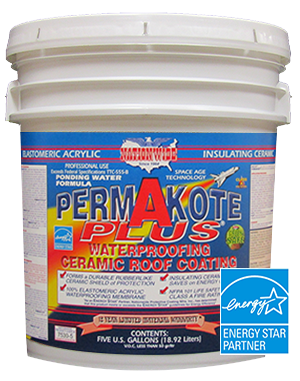 Permakote Plus, Flat Roof Coating. Bucket - Nationwide Protective Coatings