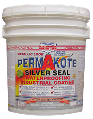 Permakote Silver Seal Bucket - Aluminum Roof Coating - Nationwide Protective Coatings
