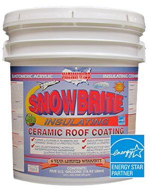 Snow Brite Bucket - Best Roof Sealant - Nationwide Protective Coatings