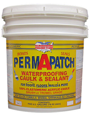 Permapatch, Elastomeric Patching Compound, Bucket - Nationwide Protective Coatings