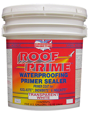 Roof Prime Bucket - Nationwide Protective Coatings