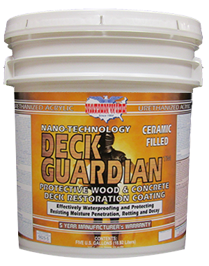 Deck Guardian, Deck Coating Bucket - Nationwide Protective Coatings