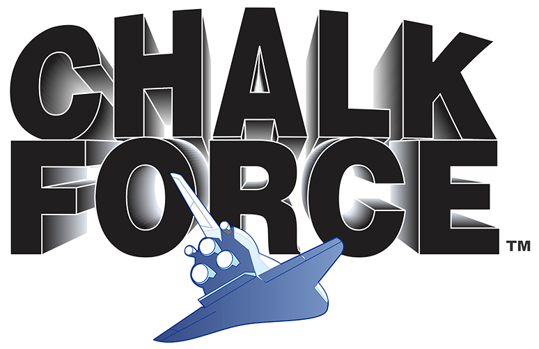 Chalk Force Logo - Nationwide Protective Coatings