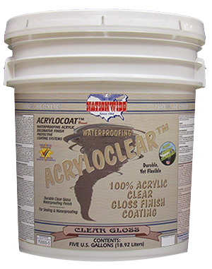 Acryloclear Bucket - Nationwide Protective Coatings