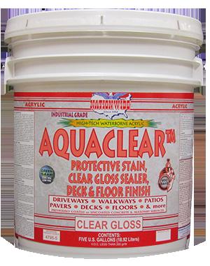 Aquaclear Bucket - Nationwide Protective Coatings