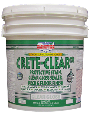 Crete Clear Bucket - Nationwide Protective Coatings