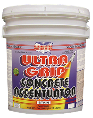 Ultra Grip Concrete Accentuator Bucket - Nationwide Protective Coatings