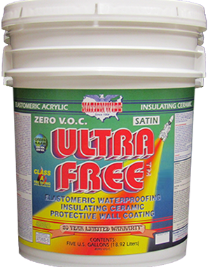 Ultra Free Satin Logo - Nationwide Protective Coatings