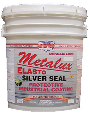 Metalux Elasto Silver Seal Bucket - Nationwide Protective Coatings