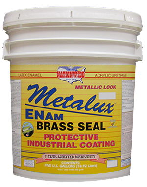 Metalux Enam Bucket - Nationwide Protective Coatings