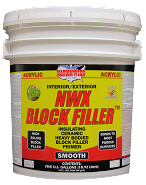 NWX-Block Filler Bucket - Nationwide Protective Coatings