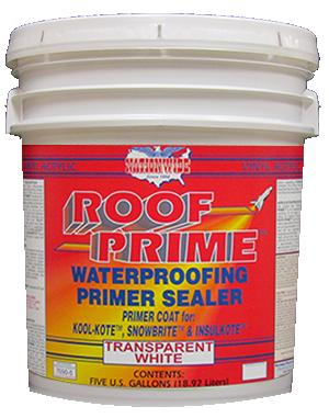 Roof Prime Bucket - Nationwide Protective Coatings
