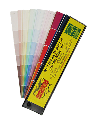 Nationwide Color Fan Deck - Nationwide Protective Coatings