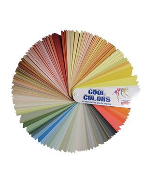 Cool Color Fan Deck - Nationwide Protective Coatings