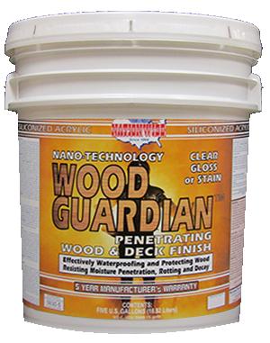 Wood Guardian Bucket - Nationwide Protective Coatings