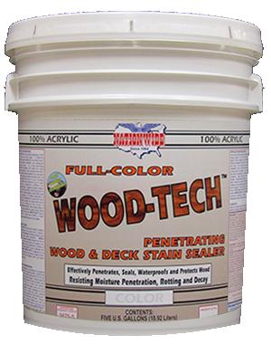 Wood Tech Bucket - Nationwide Protective Coatings
