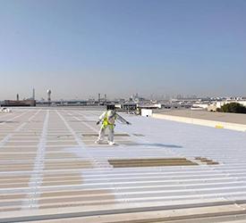Applying Nationwide Metal Roof Paint