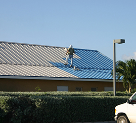How to Apply Metal Roof Paint
